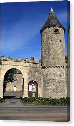 Norman Manor Defencive Tower Canvas Print