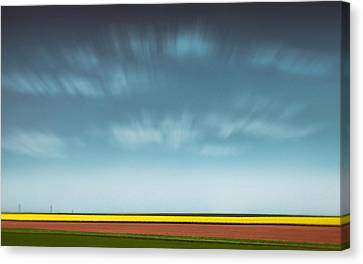 Normandy Fields Canvas Print by Dave Bowman