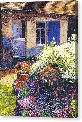 Normandy Spring Canvas Print by David Lloyd Glover