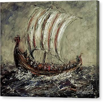 Norse Explorers Canvas Print