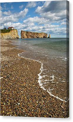 North America, Canada, Quebec, Perce Canvas Print by Patrick J. Wall