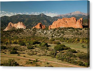North America, Usa, Colorado Springs Canvas Print by Patrick J. Wall