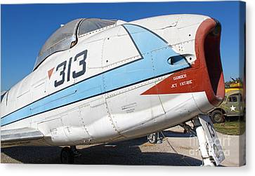 North American Fury Fj-3 - 02 Canvas Print by Gregory Dyer
