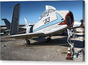 North American Fury Fj-3 Canvas Print by Gregory Dyer
