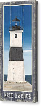 Nauset Beach Canvas Print - North American Lighthouses - Erie by Gail Fraser
