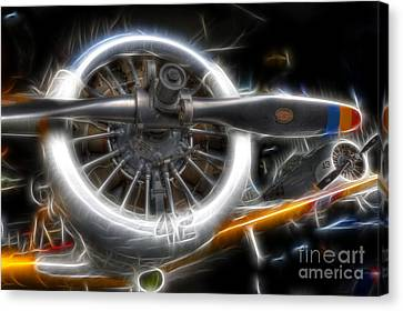 North American T-6 Texan Warbirds Canvas Print by Lee Dos Santos