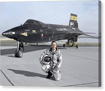Highspeed Canvas Print - North American X-15 Test Plane by Nasa