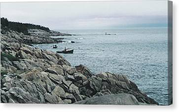 North Atlantic Canvas Print by Christy Usilton
