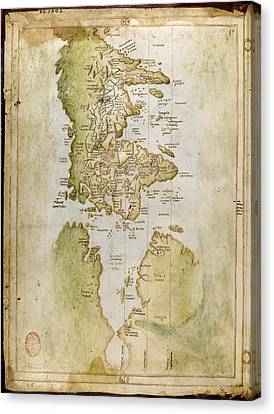 North Atlantic Coast Of America Canvas Print by British Library