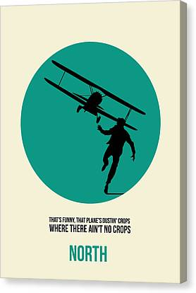 North By Northwest Poster 1 Canvas Print by Naxart Studio