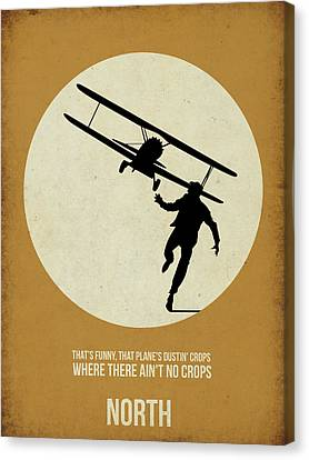 North By Northwest Poster Canvas Print by Naxart Studio