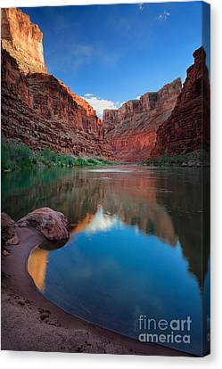Sculpted Canvas Print - North Canyon Number 1 by Inge Johnsson