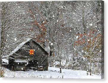 North Carolina Quilt Barn Canvas Print