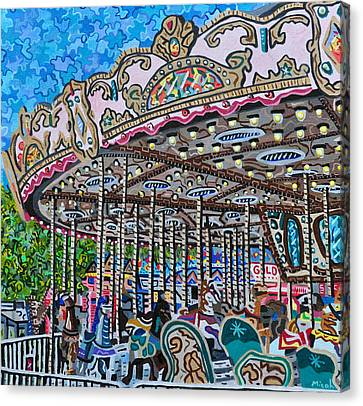 North Carolina State Fair Canvas Print by Micah Mullen