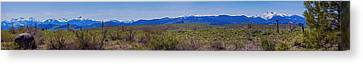 North Cascades Game Range Panorama Canvas Print by Omaste Witkowski