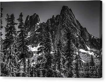 Jean_okeeffe Canvas Print - North Cascades Highway Liberty Bell by Jean OKeeffe Macro Abundance Art