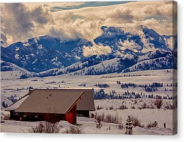 North Cascades Mountain View Canvas Print by Omaste Witkowski