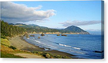 North Coast Canvas Print