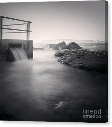 North Curl Curl Rockpool Sydney Canvas Print by Colin and Linda McKie