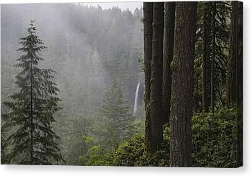 North Falls In The Distance Canvas Print