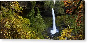 North Falls Panorama Canvas Print