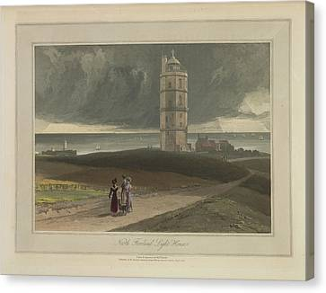 North Foreland Light House Canvas Print by British Library