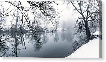 North Fork Canvas Print by David Lester