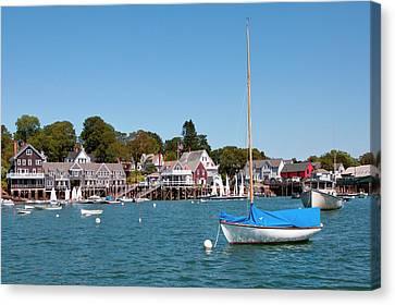 North Haven Harbor, Maine Canvas Print by Susan Degginger
