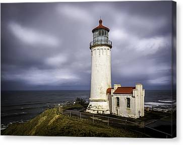 North Head Lighthouse At Sunrise Canvas Print