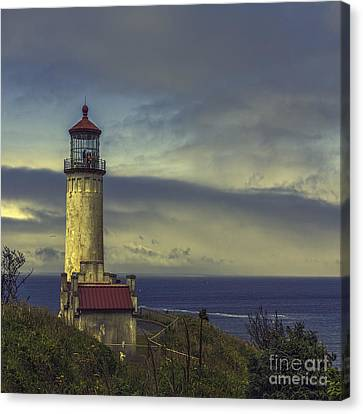 North Head Lighthouse Canvas Print by Jean OKeeffe Macro Abundance Art