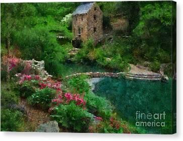 North Little Rock Ark Canvas Print