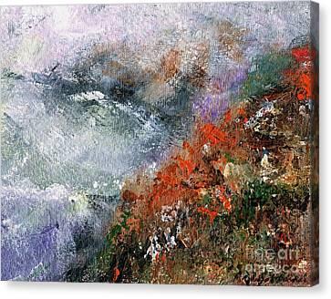 North Of Bodega Bay Canvas Print by Frances Marino