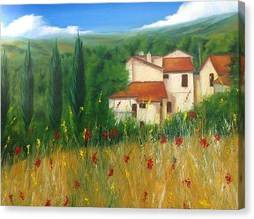 North Of Florence Canvas Print