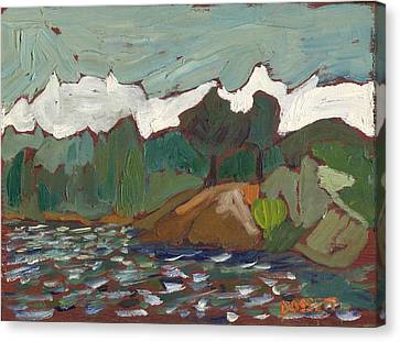 North Of Kingston Canvas Print by David Dossett