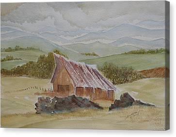 North Of Winnemucca Canvas Print