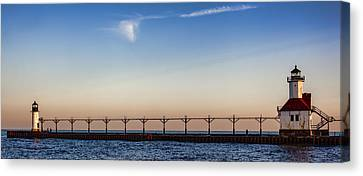 North Pier Canvas Print by John Crothers