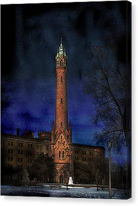 North Point Water Tower Canvas Print