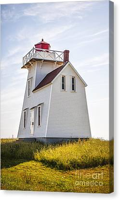 North Rustico Lighthouse Canvas Print by Elena Elisseeva