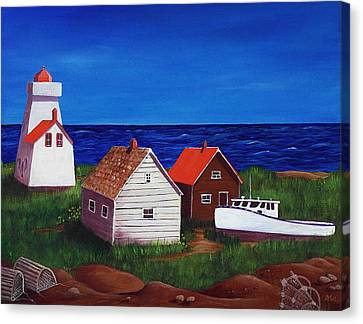 North Rustico - Prince Edwards Island Canvas Print by Anastasiya Malakhova