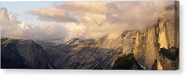 North Valley Panoramic Canvas Print by Bill Gallagher