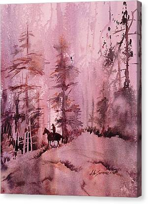 North Woods Canvas Print by John  Svenson