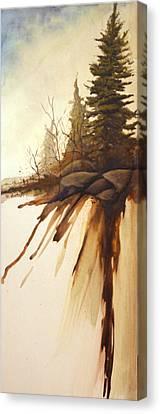 North Woods Pines Canvas Print by Rick Huotari