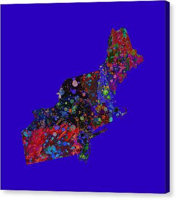 Northeastern United States 4 Canvas Print