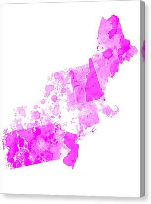Northeastern United States 8 Canvas Print
