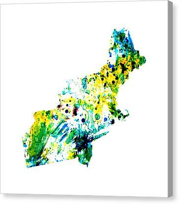 Northeastern United States Canvas Print
