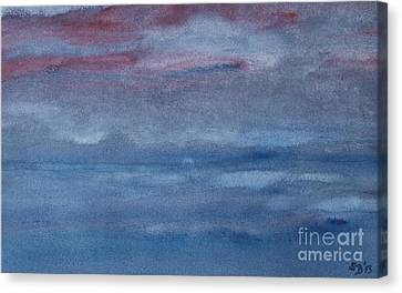 Northern Evening Canvas Print by Susan  Dimitrakopoulos