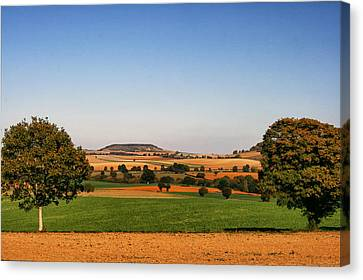 Northern France Landscape Canvas Print