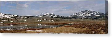 Northern Heights Canvas Print by Sandy Sisti