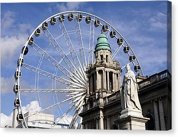 Openair Canvas Print - Northern Ireland, Belfast, The City by Tips Images