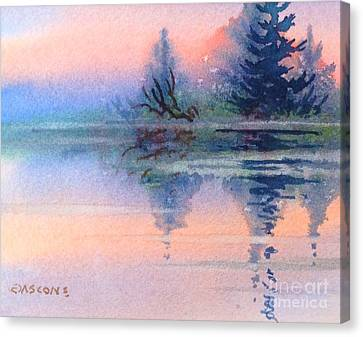 Northern Isle Canvas Print